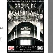 Group show: Breaking The Fourth Wall, Nottingham, November 2014